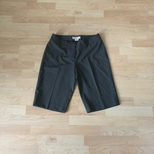 Michael Kors 'Derby' Gray Dress Shorts, Size 6
